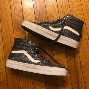 Vans Unisex SK8-Hi High-Top Sneakers (glitter)